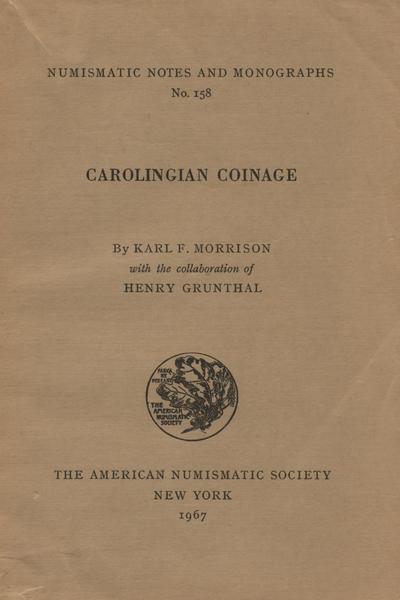 ans digital library carolingian coinage