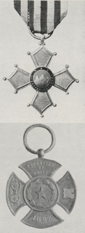 ANS Digital Library: South American Decorations and War Medals