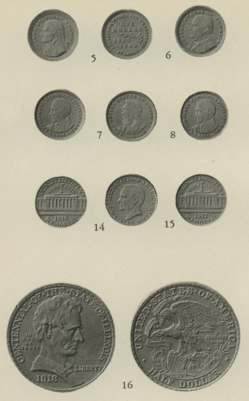 ANS Digital Library: commemorative coinage of the United States