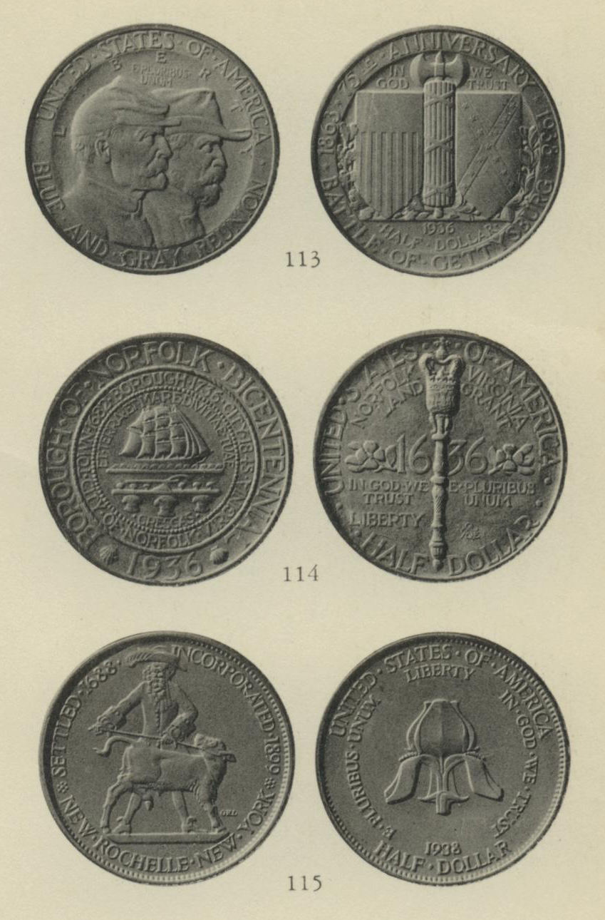 ANS Digital Library: commemorative coinage of the United