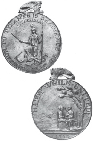 1790 Peace Trade Friendship Commerce Peace Medal Native /& USA Silver Finish