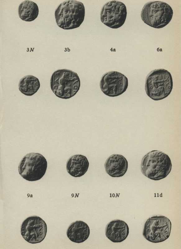 ANS Digital Library: Fifth and Fourth Century Gold Coins