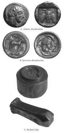 ANS Digital Library: Athenian Decadrachm