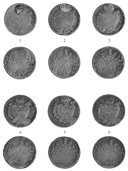 f7b998ec11 ANS Digital Library  Mark Newby s St. Patrick coinage