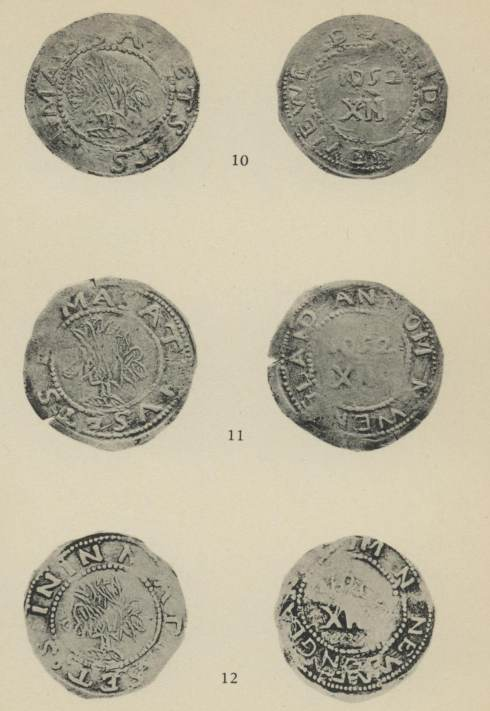 ANS Digital Library: New England and willow tree coinages of