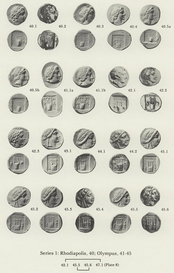 Ans Digital Library Coinage Of The Lycian League