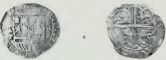 Two 4 Reales For Assayer B Are Known Again With The AP Initials Both Left And Right Of Shield To Fig