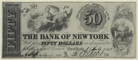 TWO $5 DC GOV BANK /& $5 Washtenaw MICHIGAN UNION STATES Civil War FACSIMILE Note