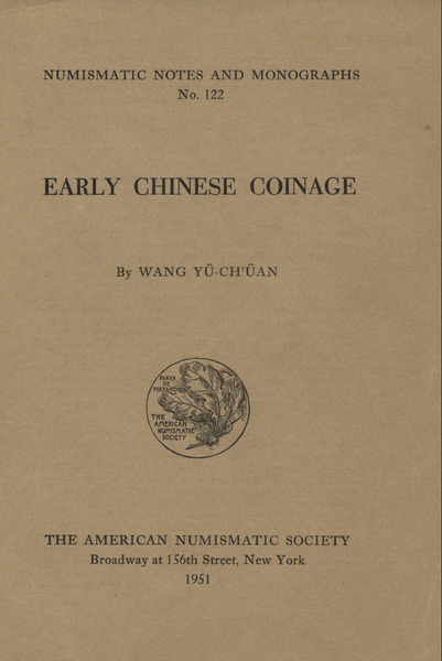 ANS Digital Library: Early Chinese Coinage