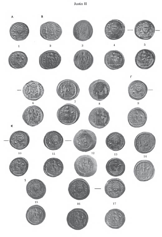 ANS Digital Library: Studies in Early Byzatine Gold Coinage